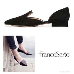 Franco Sarto Scarletta suede flats